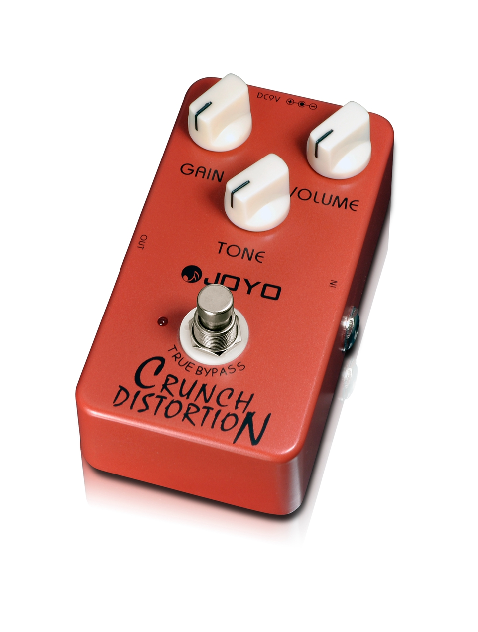 joyo jf 03 crunch distortion guitar effect pedal british classic rock distortion great response. Black Bedroom Furniture Sets. Home Design Ideas