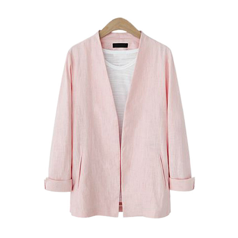 European Style V Neck Women Blazers And Jackets Autumn