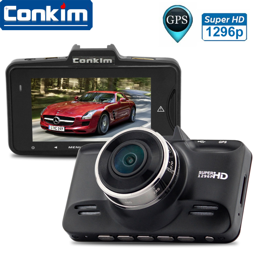 Ambarella A7LA70 Car DVR Camera Dashcam Full HD Video Recorder 2304 1296P 2 7 LCD 170