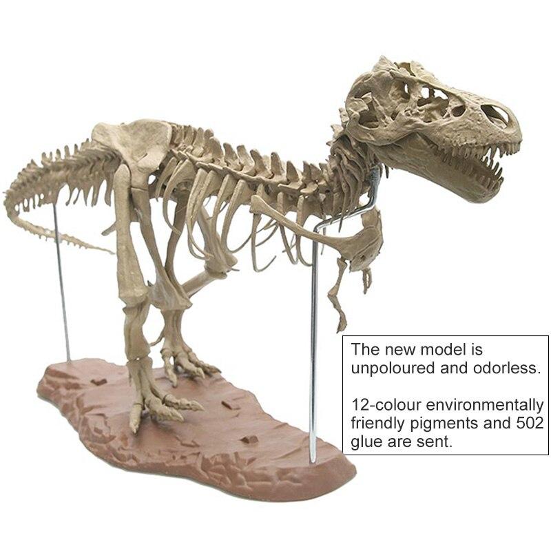 Large Assembly Dinosaur Fossil Puzzle Child Model Toy Tyrannosaurus Skeleton Specimen Simulation Teaching CoursewareHoliday Gift