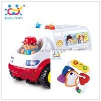 Early Learning Baby Rattles Toys Brinquedo Bebe Chocalho Eletronicos Ambulance Free Shipping Huile Toys 836 306E