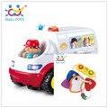 Aprendizagem precoce chocalhos brinquedos Brinquedo Bebe Chocalho ambulância grátis frete Huile brinquedos eletrônicos 836 e 306E