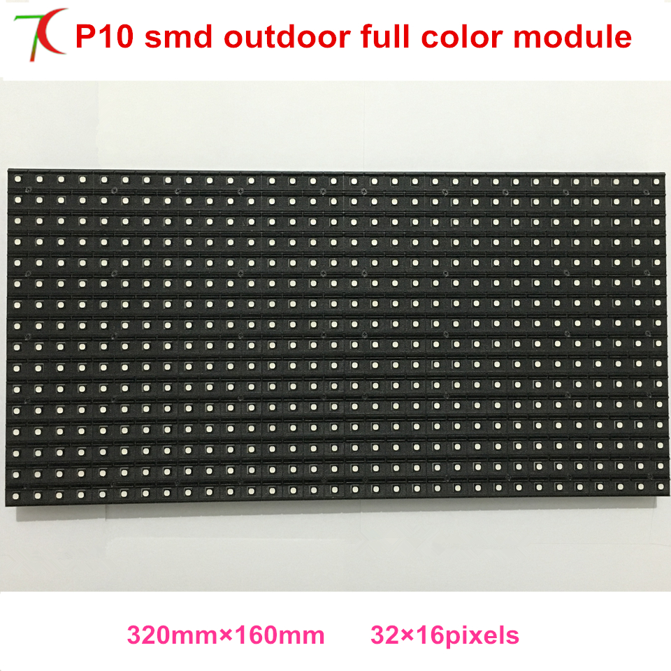 P10 Smd Outdoor Full Color Module Widely Use For Huge Advertising Video Wall ,scrolling Character Screen, Advertising Signs.