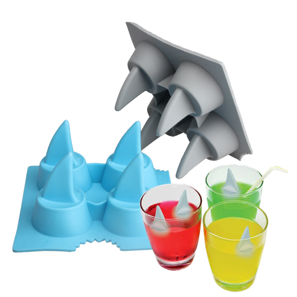 Drink Ice Tray Cool Shark Fin...