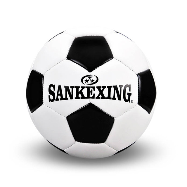 football PU leather natural latex soccer ball size 5 competition training professional football black white soccer ball, C2