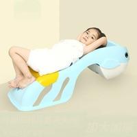 Çocuk Şampuanı Şezlong Ekstra Büyük Ev Ayarlanabilir Çocuk Şampuan Yatak Bebek Şampuanı Sandalye|Banyo Sandalyeleri ve Tabureleri|Mobilya -