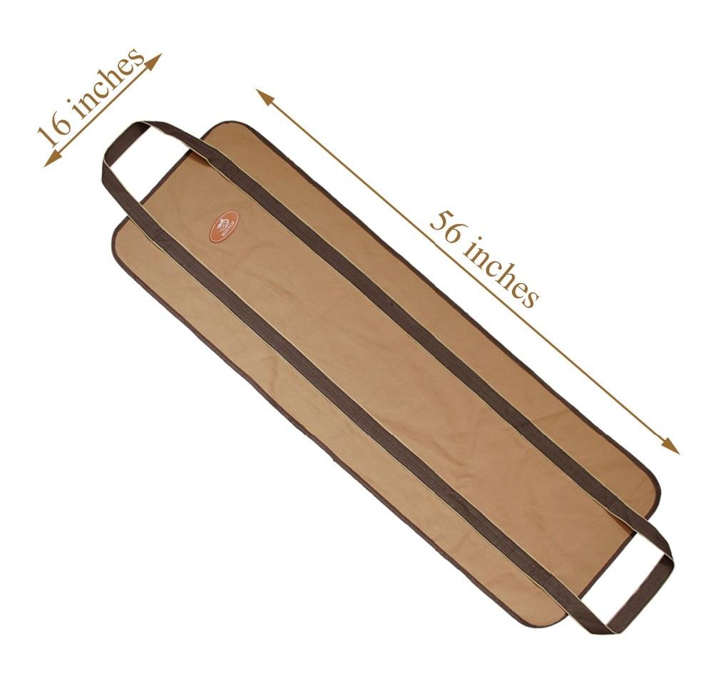 In Accessori Log Ardere Del Immagazzinaggio Canvas Per Portante Khaki Carrier Heavy Supporto Da Legno Camino Di Elemento Legna Duty Sacchetto Stufe Il black OHw0A
