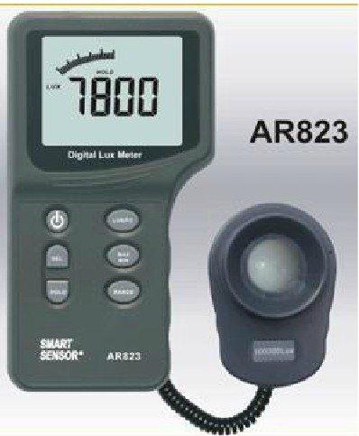 AR823 Digital Light Lux Meter Tester(0-100,000LUX)Camera Photo Test Gauge mini digital lux meter light meter lux fc measure tester