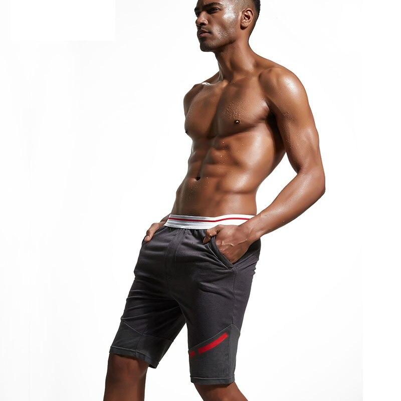 mens shorts mannen lounge pants casual knee-length pants slim cotton shorts for men short pants