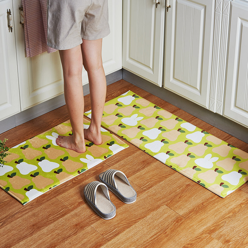 modern kitchen designs defined. 2pcsset cartoon kitchen floor mat, Wohnzimmer design