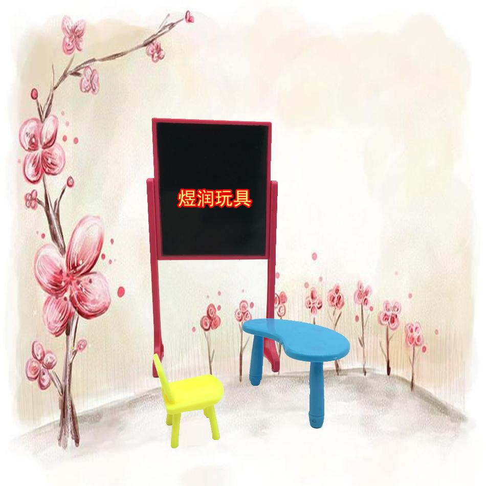 nueva llegada kelly mueca accesorios de moda habitacin muebles escritorios taburete pizarra para