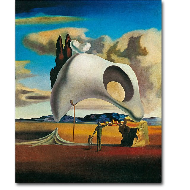 Salvador Dali Artwork Art Silk Poster Print 13x16 24x30