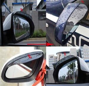 Image 2 - Accessoires pour sourcils de voiture en PVC, accessoires pour Dacia duster logan sandero stepway lodgy mcv 2 dokker, 2 pièces