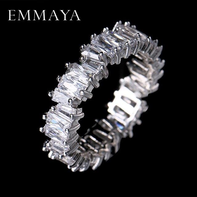 EMMAYA קסם יוקרה אופנה חדשה AAA Cz טבעת נישואים תכשיטי מסיבת נשים משלוח חינם