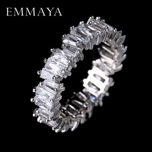 EMMAYA NEW Fashion Luxury Charm AAA Cz Wedding Ring Women Party Jewelry Free Shi