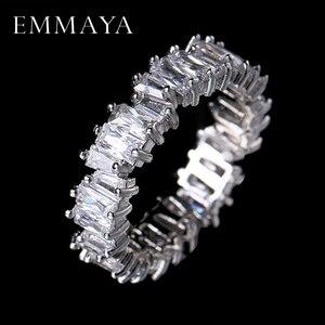 EMMAYA NEW Fashion Luxury Charm AAA Cz Wedding Ring Women Party Jewelry Free Shipping(China)