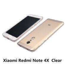 Xiaomi redmi note 4x case пластиковые полный протектор hard cover прозрачный красный рис note4x телефон случаях аксессуар коке капа