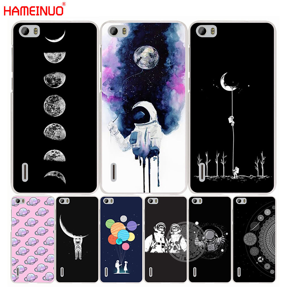Cellphones & Telecommunications Hameinuo Space Love Moon Astronaut Cell Phone Cover Case For Huawei Honor 3c 4a 4x 4c 5x 6 7 8 Y3 Y5 Y6 2 Ii Y560 Y7 2017 Rich In Poetic And Pictorial Splendor Half-wrapped Case