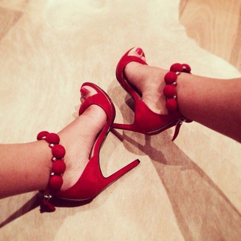 Fashion Buttons Rivet Studs High Heels Designer Gladiator Sandals Red Black Women Pumps Party Dress Sexy Wedding Shoes Woman hot sales women s shoes 12cm high heels party red bottom woman sandals gladiator black platform pumps wedding sapato feminino