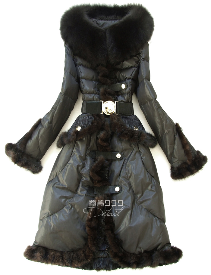 2016 Winter Jacket Women down jackets Down Coat Womens Luxury Large Fur collar Down Jacket Women Brand Down Coats fur Outwear