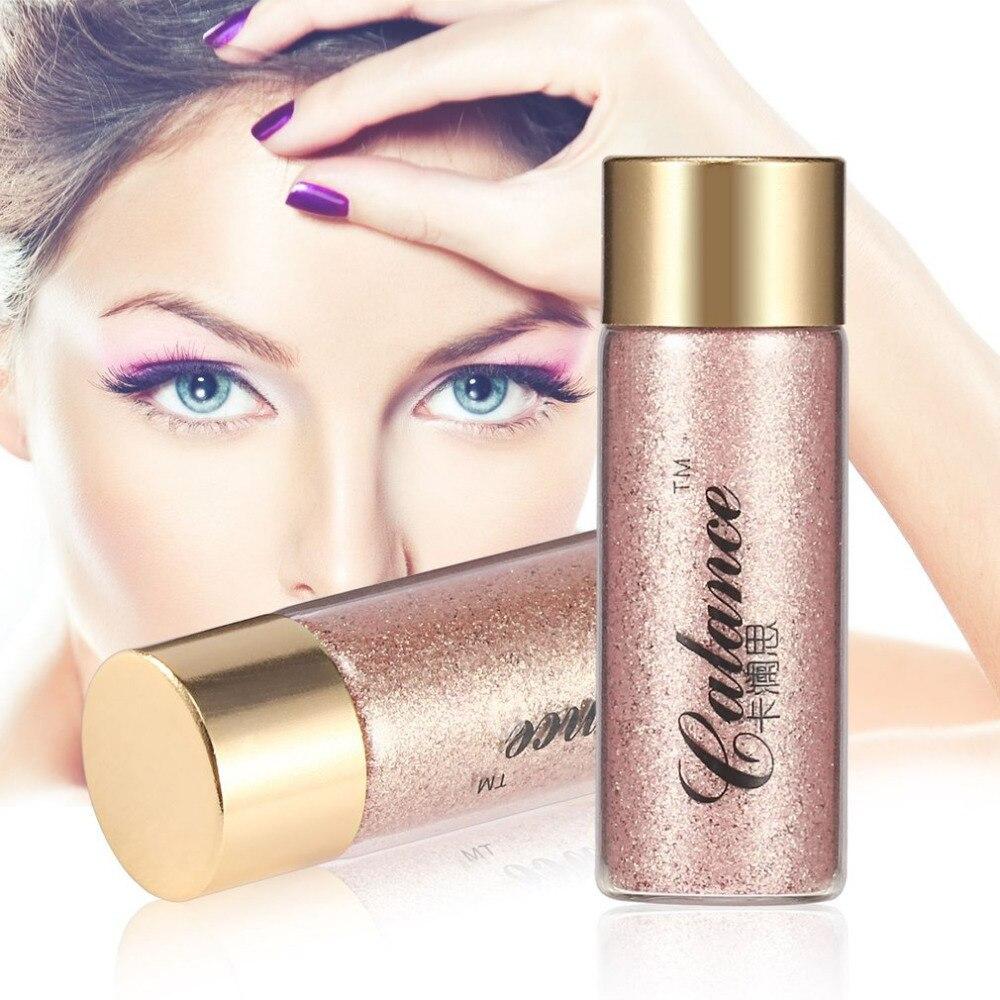 profesional de larga duracin fcil de usar maquillaje diamante chispeante brillo nacarado brillo sombra de ojos