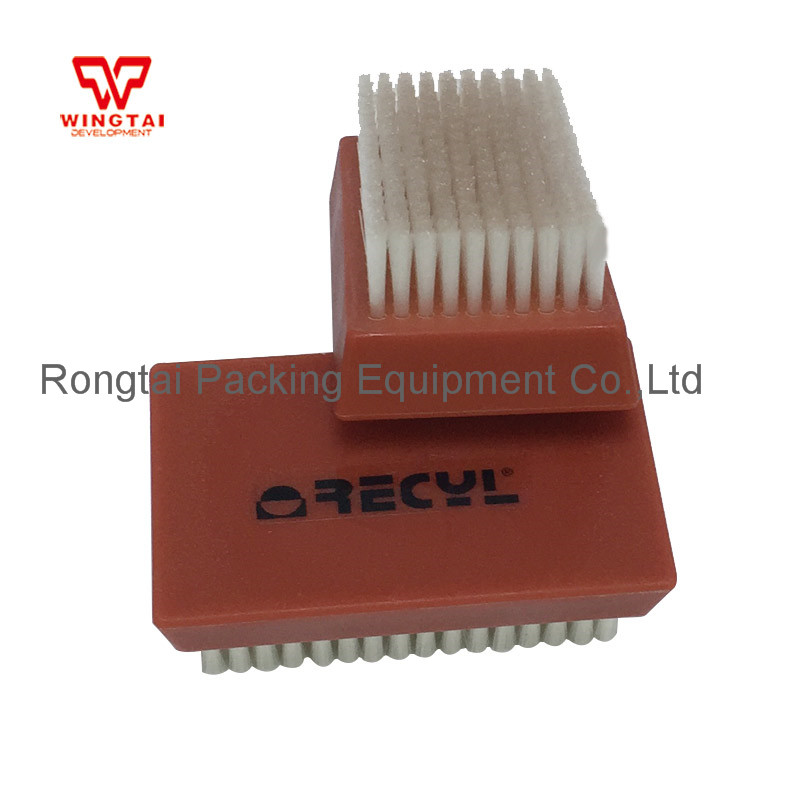 Nylon Cylinder Roller Brush Good Quality France RECY 11*7*4.5 cm Nylon Plate Cleaning Brush For Anilox Roll