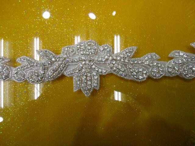 Doprava zdarma pasu dekorace šití na bling nášivka, křišťál drahokamy aplikovat, svatební křídla diamant nášivka