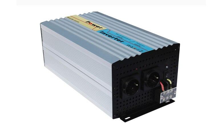 CHAUDE 3000 w sinusoïdale pure onduleur à onde pour le système solaire vent l'utilisation du système, hors réseau monophasé 24 v 48 v 96 v 110 v avec chargeur