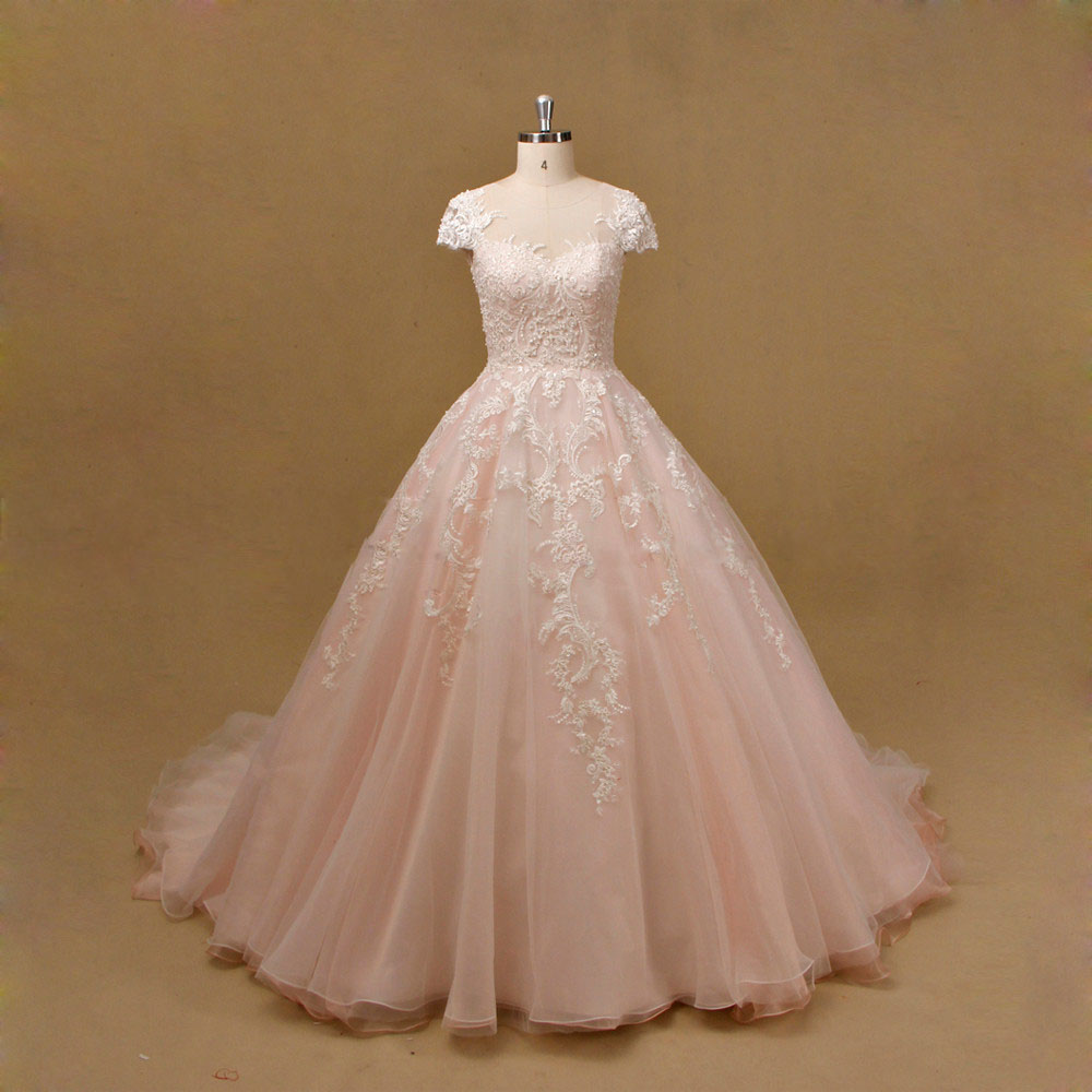 6cacfa8d2a49 Light Pink Wedding Gown - Down To Earth Bali