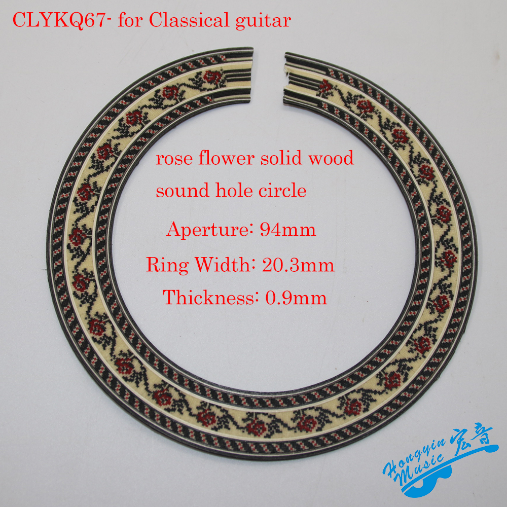 Original Flower Pattern Solid Wood Guitar Circle Sound Hole For Classical Guitar Decal Accessories подушка printio россия