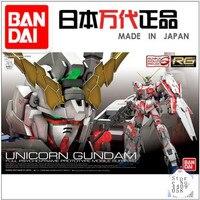 Bandai Gundam 16741 RG 25 1/144 RX 0 UNICORN Gundam Action Figure model toys kids