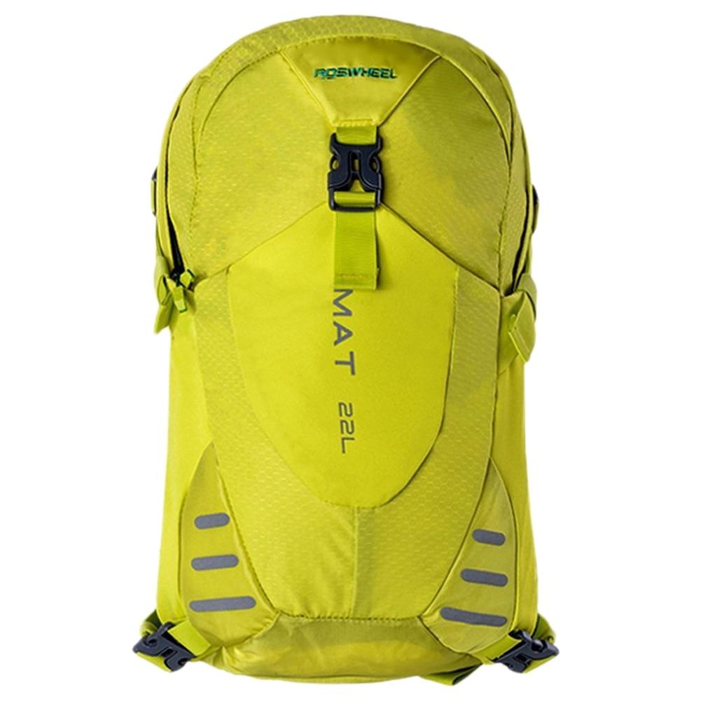 ФОТО Roswheel Multi purpose Outdoor Sports Rainproof Shoulder Bag Nylon Bicycle Backpack