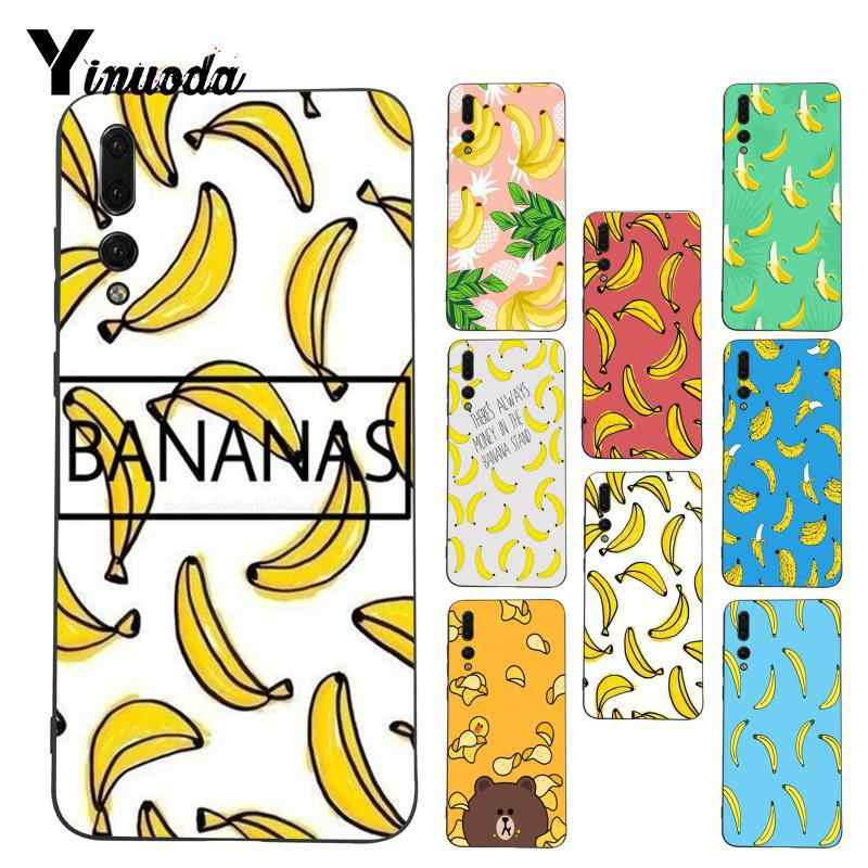 Yinuoda Bananas Top Detailed Coque Phone Case for Huawei P9 P10 Plus Mate9 10 Mate10 Lite P20 Pro Honor10 View10