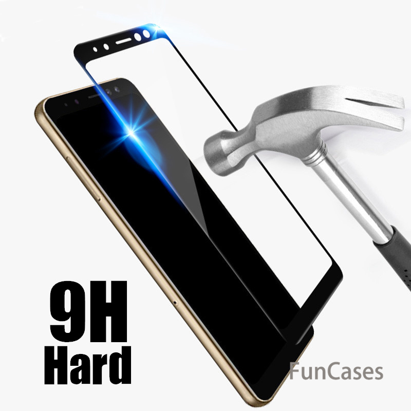 Screen Cover For Samsung Galaxy A7 A6 A8 Plus 2018 J6 J4 Plus J8 A7 2018 Case Tempered Glass For Samsung A5 2017 J6 A6plus A 6 7 image