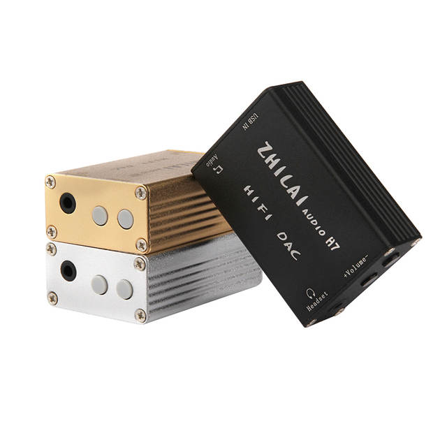 ZHILAI H7 Computer USB Digital External Sound Card Desktop
