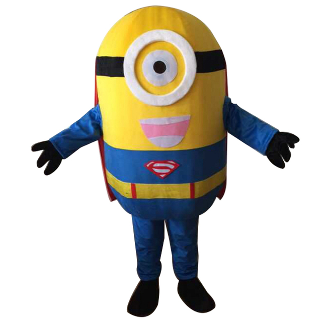 christmas minion minion mascot costume to play dress christmas version free shipping - Christmas Minion