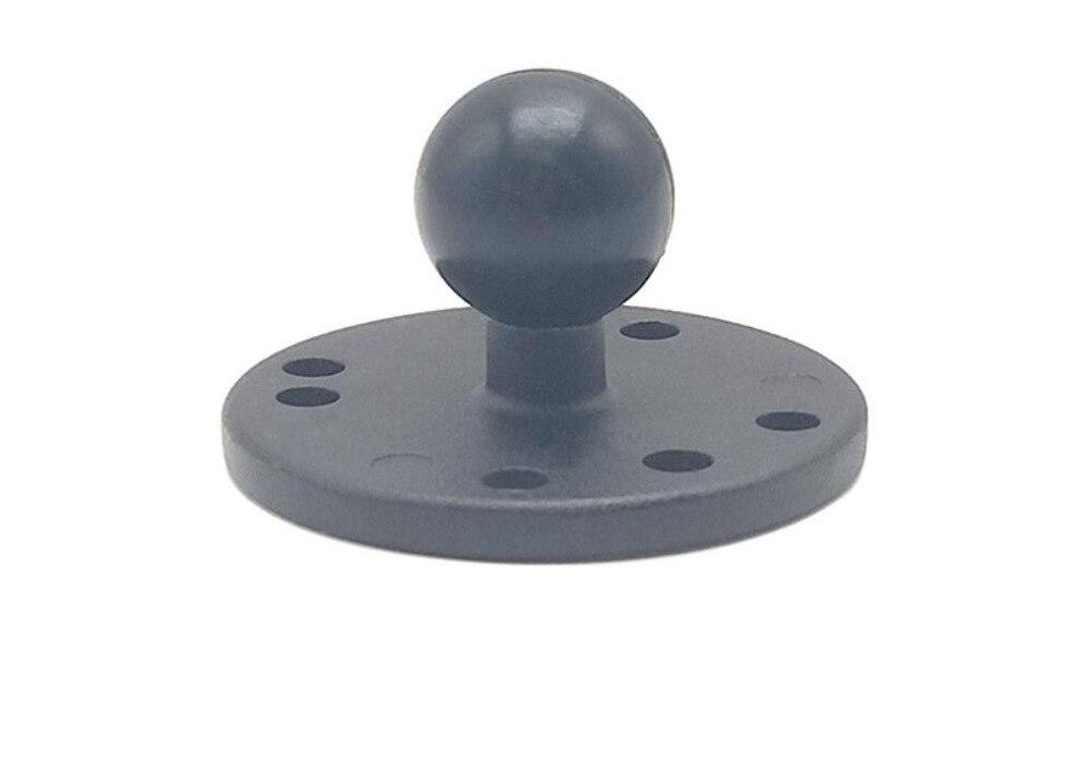 1 pulgadas bola Base redonda con patrón de agujeros AMPS RAM-B-202U soportes ram trabajar para las cámaras gps etc