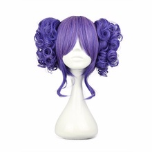 цена на 35cm Long Blue Beautiful lolita wig Anime Wig