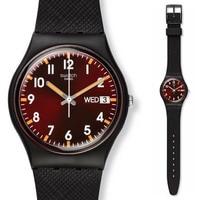 Swatch Watch Classic Color Code Series Quartz Watch GB753