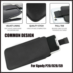 На Алиэкспресс купить чехол для смартфона casteel pu leather case for xgody p20 d28 s9 p20 pro x25 pull tab sleeve pouch bag case cover