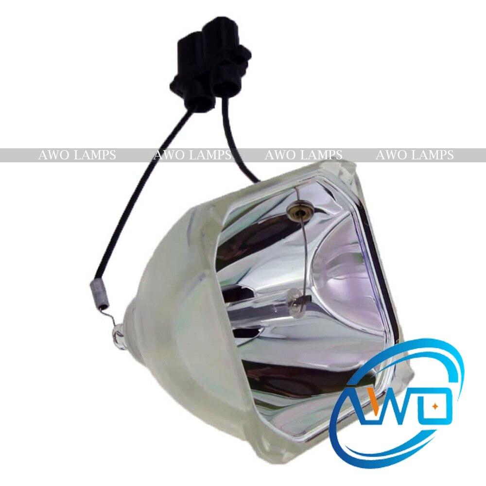 AWO remplacement lampe de projecteur/ampoule seulement ET-LAE900/ET-LAE700 nu pour PANASONIC PT-AE700/PT-AE800/PT-AE900 projecteurs