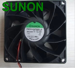 Sunon PMD2409PMB1-A Inverter fan 9CM 90mm 9038 DC 24V 12.2W cooling fan 925 silver plated leopard crystal bracelet