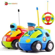 Free Ship Remote Control Baby Car RC Car Baby's First Car Education Learning Toy Best Toys For Children