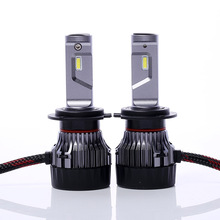 FYSZ lumileds h7 mini led headlight 30W 9-30V IP68 6000K Headlight Fog Lamp High Beam 5000LM Import Power Bead 2Pcs