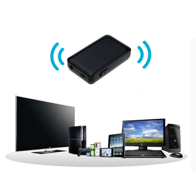 Mejor Precio Transmisor de Música Inalámbrico Bluetooth A2DP Estéreo de 3.5mm Adaptador de Audio