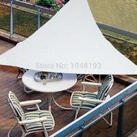 UV Su Geçirmez üçgenler Güneş Gölge Yelken 3 m X 3 m X 3 m gölge Net tente açık avlu yüzme havuzu gazebo gölgelik gölgeleme parkı