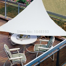 Free Shipping UV Waterproof Triangle Sun Shade Sail 3m X X3m Combination Net