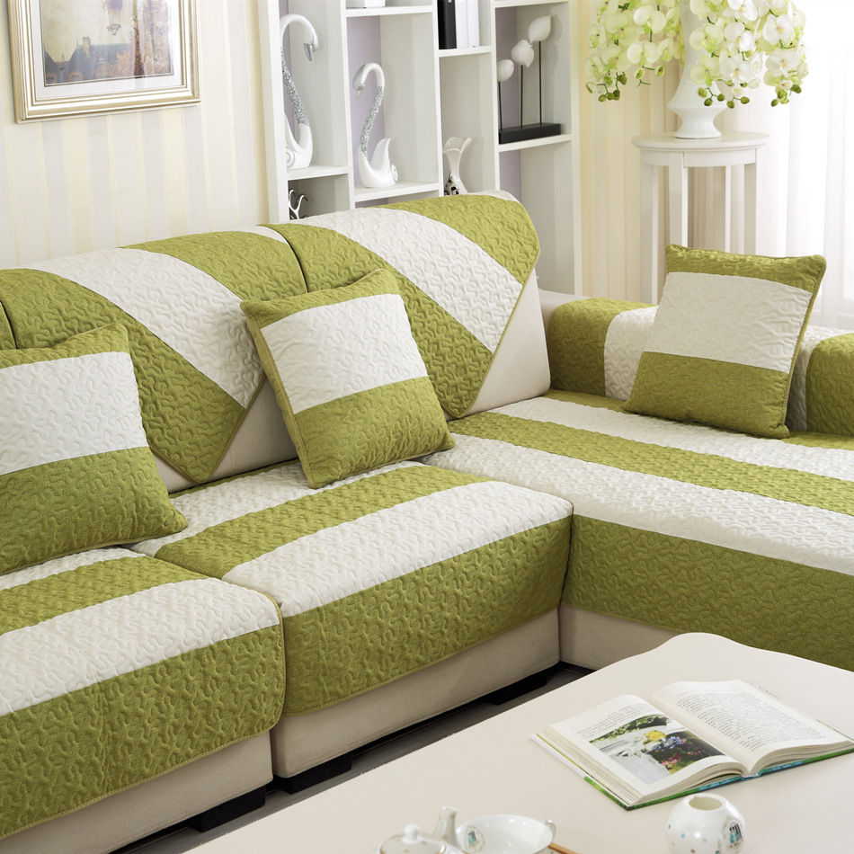 New Arrival 2016 Modern Stripped Sofa Slipcover For