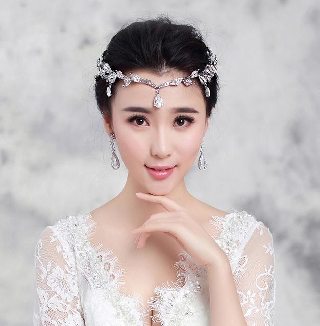 Noiva strass o acessório do cabelo do casamento hot-venda de liga de strass acessórios de noiva de cristal
