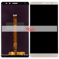 1pcs White Black Gold For Huawei Mate 8 LCD Display With Touch Screen Digitizer Assembly For